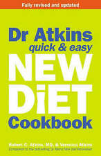 �� Dr. Atkins' Quick and Easy New Diet Cookbook,Very Good Condition