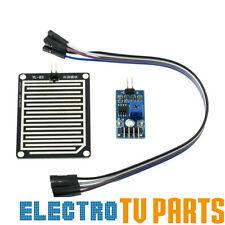 Rain Sensor Water Raindrops Detection Module for Arduino Raspberry Pi UK SELLER