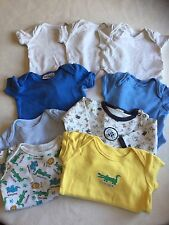 Baby Boys Clothes Bundle Newborn- Vest  Tops Bodysuits