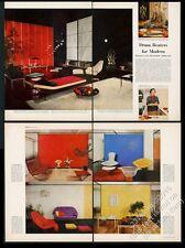 1953 Hans Knoll Eero Saarinen Harry Bertoia Herbert Matter pix furniture article