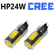 2x DRL HP24W  7.5W G4 WHITE CREE LED DAYTIME RUNNING BULBS HID PEUGEOT 3008 5008