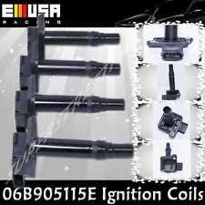 4PCS Ignition Coils for 00-04 Audi A6 Quattro Base Sedan 4D 4.2L V8 06B905115E