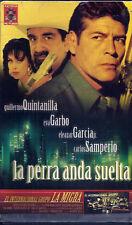 LA PERRA ANDA SUELTA (VHS) Mexi-Crime Drama! Rare Big Box Case! Spanish Only!