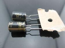 2pcs JAPAN Panasonic FM 150uf 35V 150mfd Impedance Electrolytic Capacitors