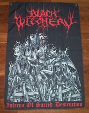 Black Witchery - Inferno of Sacred Destruction POSTER FLAG Blasphemy Archgoat