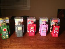 Gang of Five Robots (Have Four) plus Shooting Giant  Machine Man Sonic Non-Stop