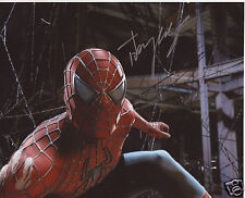 TOBEY MAGUIRE - SPIDERMAN AUTOGRAPH SIGNED PP PHOTO POSTER 2