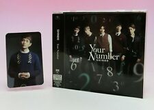 SHINee CD+DVD+Photo Card Japan Limited Edition Your Number Onew
