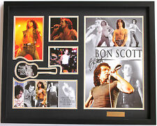 New Bon Scott Signed AC DC ACDC Limited Edition Memorabilia Framed