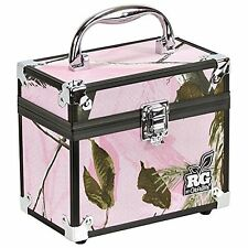 Plano Realtree Girl Caboodles Train Makeup Cosmetic Storage Case Pink Camo Small