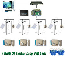 Electric Drop Bolt Lock Door Entry Security System RFID Reader Access Control