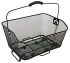 Bike Bicycle Cycle Quick Release Rear Rack Wire Shopping Basket Black BK03WRR