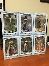 Final Fantasy XIII Play Arts Kai Action Figure LOT OF 6 Lightning Square Enix