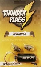 Thunderplugs (ER20) TPB1 Musician Earplugs + Free Carry Case! Tested & Certified