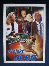 Filmplakatkarte videoplus  Projekt 9000