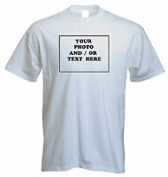 PERSONALISED T SHIRT, ANY PICTURE ,ANY TEXT ,ANYTHING