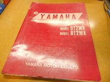1972 Yamaha DT2 MX RT2 RT2MX Parts List 88 Pages