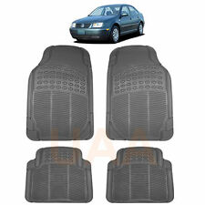 ALL WEATHER GRAY RUBBER FLOOR MATS SET for VOLKSWAGEN JETTA PASSAT