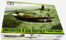 "Tamiya WWII Brewster B-339 Buffalo fighter - ""Pacific Theater"" model kit 1/48"