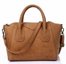 Vincenza Designer Large Womens Leather & Suede Style Tote Shoulder Bag Handbag