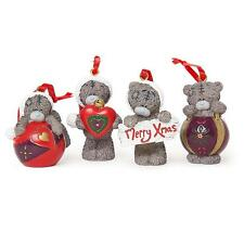 Me To You Set Of Four Resin Christmas Tree Decorations G01R0508