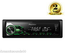 Pioneer MVH-180UBG WMA MP3 FLAC Mechless Car Stereo USB Aux In Receiver Green