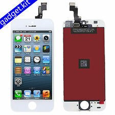 A+ White For iPhone 5S LCD Display & Touch Screen Digitizer Frame Assembly HGDS