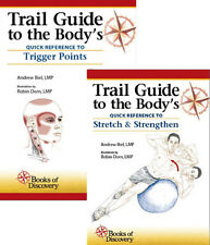 Trail Guide to the Body Quick Reference Stretch Strength Trigger Point Book Set