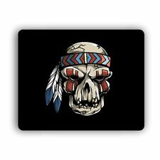 Tribal Skull Computer Gaming Mouse Mat Pad Desktop Laptop Mouse