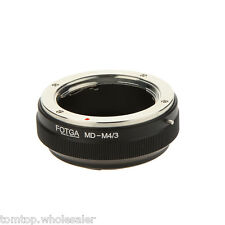 Lens Adapter Ring for Minolta MD MC Lens to Micro 4/3 MFT Mount Camera A7G0