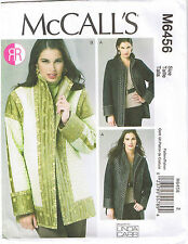 Reversible Lined Jackets Linda Carr McCalls Sewing Pattern L XL XXL 16-26
