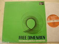 Library peer International the Michelangelo Orchestra FREE DIMENSION 1976 VINILE