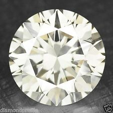 1.53 Cts UNTREATED RARE WHITE LIGHT YELLOWISH COLOR NATURAL LOOSE DIAMONDS