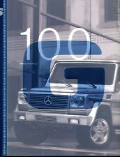 2003 Mercedes Benz G500 G55 AMG Sales Brochure Book
