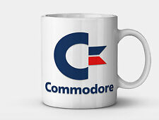 Commodore Logo Mug (C64 C128 Amiga Vic20 Retro Gaming)