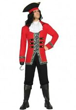 Déguisement Homme Pirate XL Costume Adulte Capitaine Crochet Dessin Animé