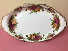 Royal Albert Old Country Roses Oval Condiment Tray Early Stamp Unused