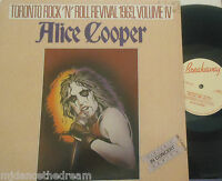 ALICE COOPER - Toronto Rock N Roll Revival 1969 Vol IV ~ VINYL LP