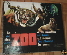 Zoo in Casa Cox International  anni 1972 INCOMPLETO