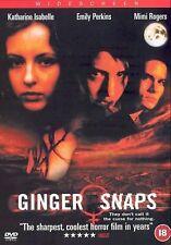 Ginger Snaps (DVD, 2002)  Emily Perkins, Katharine Isabelle, Kris Lemche New