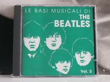 THE BEATLES - LE BASI MUSICALI DI THE BEATLES VOL. 3 - CD NEAR MINT