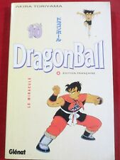 MANGA DRAGON BALL TOME 10 AKIRA TORIYAMA DRAGON BALL N°10 LE MIRACULE