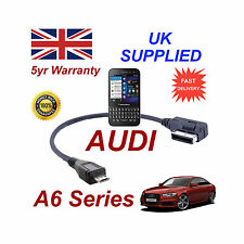 AUDI A6 Series 4F0051510M Cable For BLACKBERRY Q5 MICRO USB Audio connection