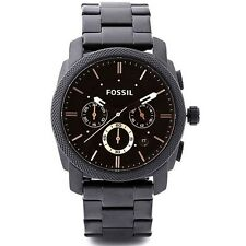 NEW Fossil Machine Men's Chronograph Quartz Watch - FS4682