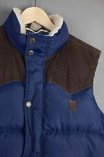 Tommy Hilfiger Gilet Bodywarmer Mens Blue Navy Padded Quilted Size Large L