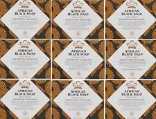 Nubian Heritage-(9- Pk) African Black Soap - Shea Butter 5oz Bars