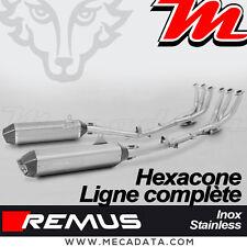 Ligne Complète Pot échappement Remus Hexacone inox Race BMW K 1600 GTL 2016