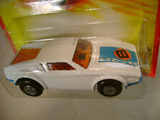 1980 MATCHBOX LESNEY SUPERFAST #8 WHITE DE TOMASO PANTERA NEW MOC
