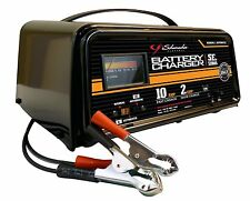 NEW Schumacher Dual-Rate 12v Battery Charger, 10/2 Amp Manual Automatic Charge