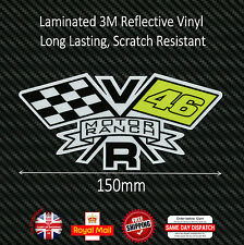 Valentino Rossi 46 MOTOR RANCH Laminated 3M Reflective Decals Sticker 150mm F218
